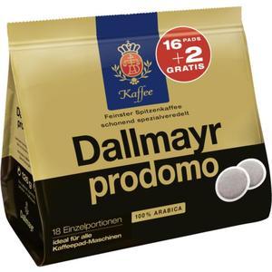 Dallmayr prodomo Kaffeepads 1.58 EUR/100 g