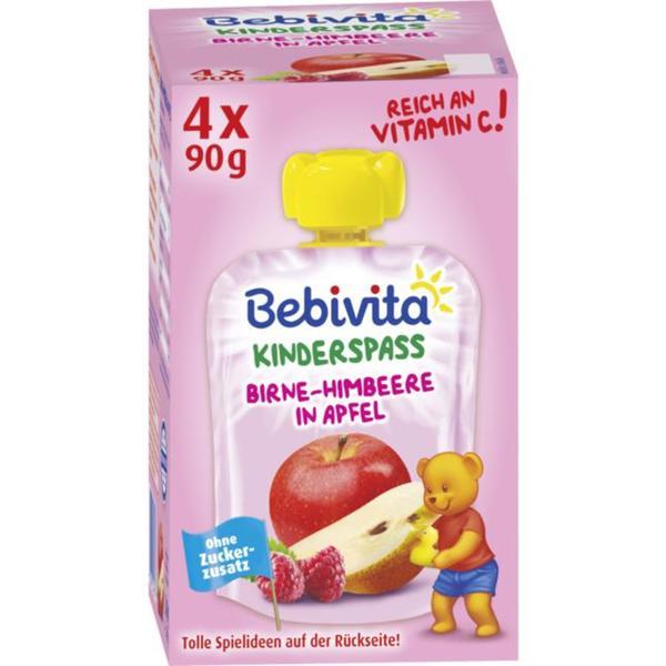 Bebivita Kinderspass Birne-Himbeere in Apfel 6.53 EUR/1 kg