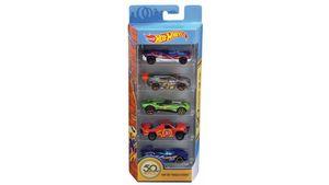 Mattel - Hot Wheels - 50th 5er Geschenkset, sortiert