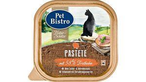 Pet Bistro Katzennassfutter Naturschätze - Saftige Stücke mit Truthahn