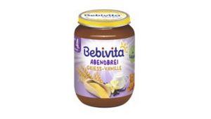 Bebivita Abendbrei - Grieß-Vanille