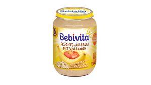 Bebivita Frucht & Getreide - Früchte-Allerlei mit Vollkorn