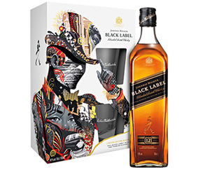 Johnnie Walker®  Black Label Geschenkset