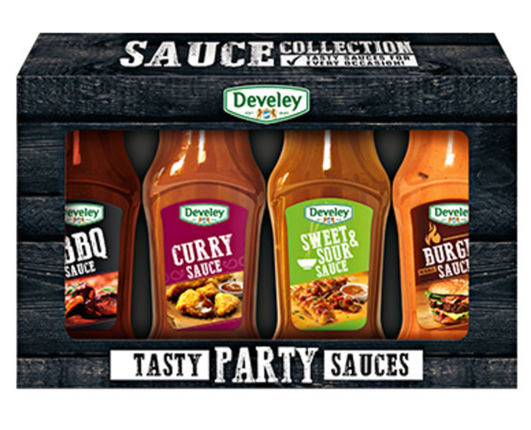 Develey Tasty Party Sauces