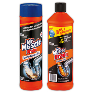 Mr Muscle Drano Power Granulat / Gel