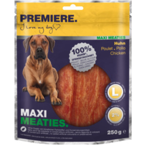PREMIERE Maxi Meaties Huhn 250g