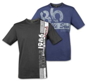UNCLE SAM Sportliche Herren-T-Shirt