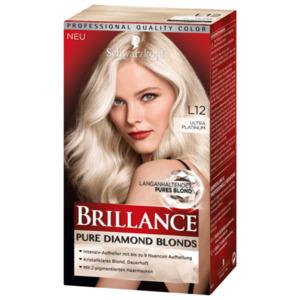 Schwarzkopf Brillance Pure Diamond Blonds L12 ultra platinum