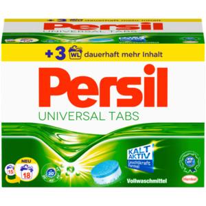 Persil Vollwaschmittel Universal Tabs 1,12kg, 18 WL