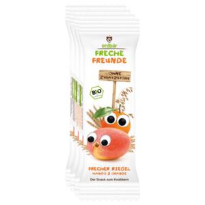 Erdbär Freche Freunde Riegel Mango-Orange 4x23g