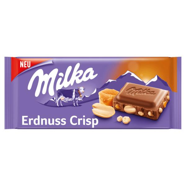 Milka Tafel Erdnuss Crisp 90g