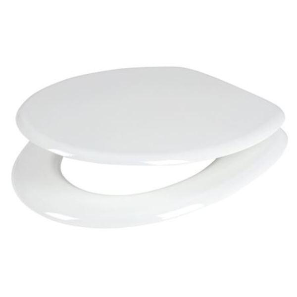 WC-Sitz aus MDF Weiß