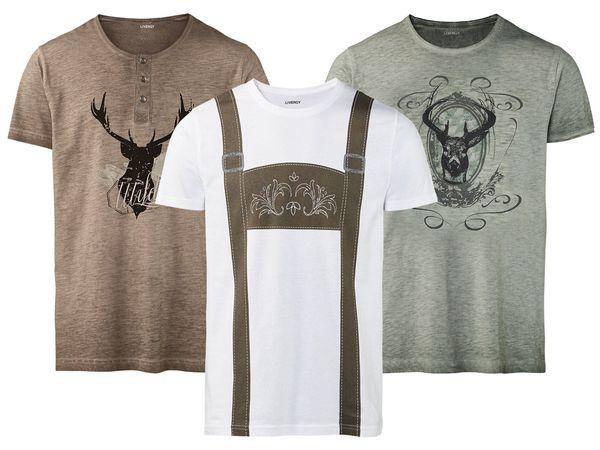 buy popular 09683 81f85 LIVERGY® Herren T-Shirt