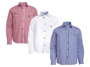 PEPPERTS® Kinder Jungen Trachtenhemd