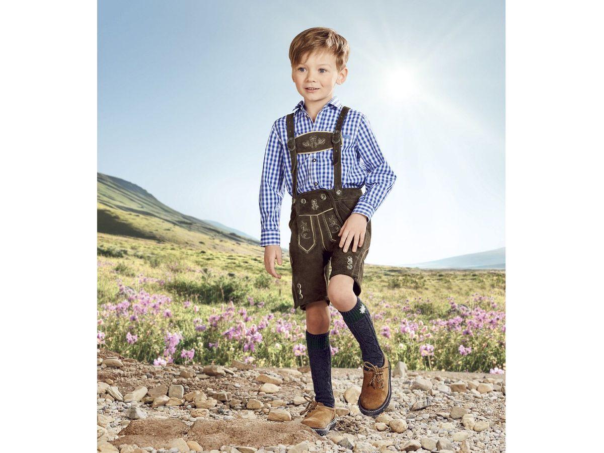 Bild 3 von LUPILU® Kleinkinder Jungen Lederhose