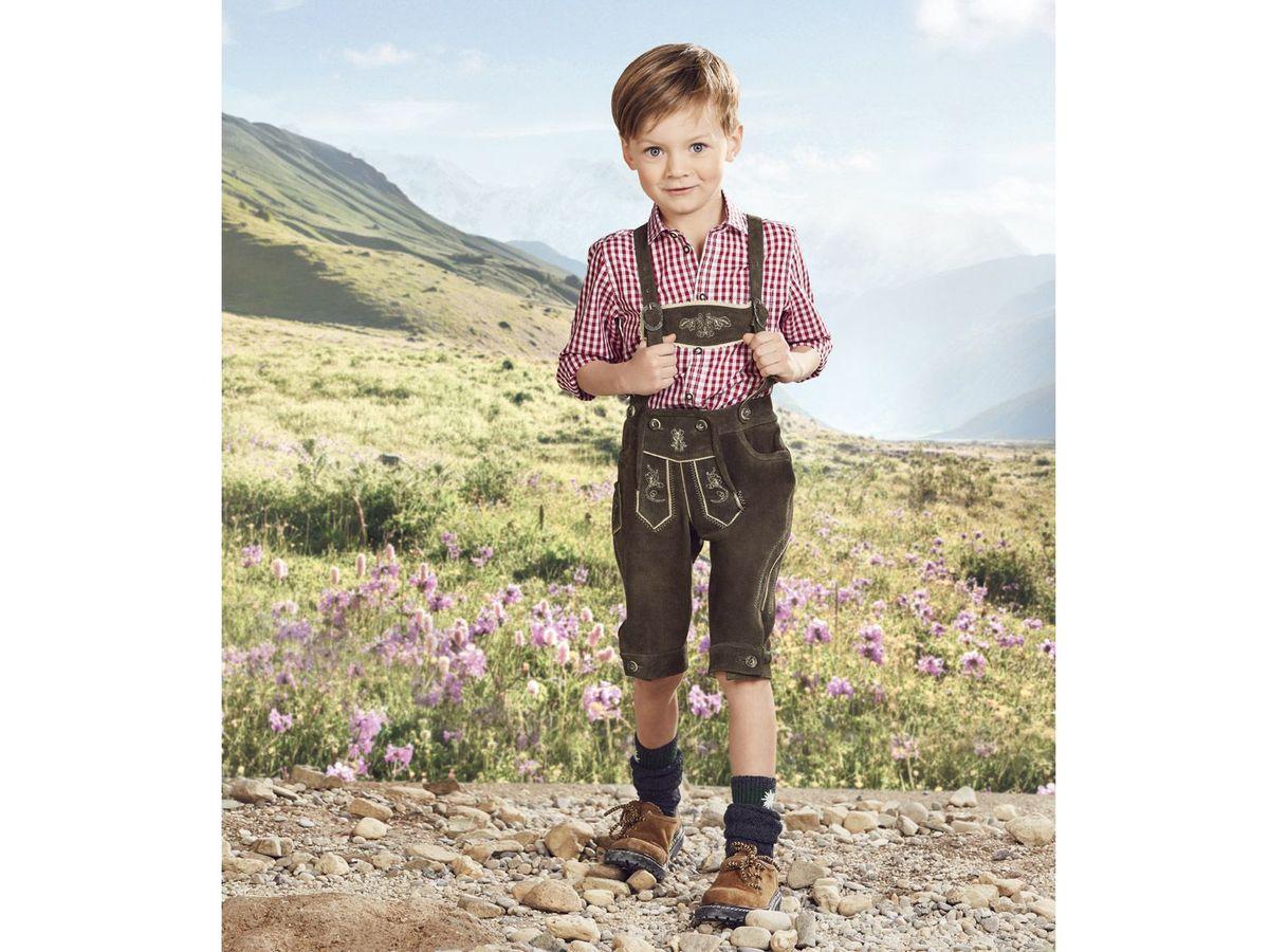 Bild 4 von LUPILU® Kleinkinder Jungen Lederhose
