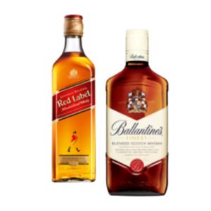 Ballantine's Finest oder Johnnie Walker Red Label Scotch Whisky