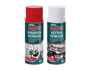 VELO by Baufix® Fahrradpflege Ketten- / Bremsenreiniger, 400 ml