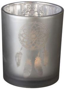 Teelichtglas - Traumfänger - 6 x 7,5 cm