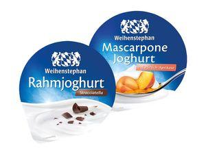 Weihenstephan Rahmjoghurt/ Mascarponejoghurt