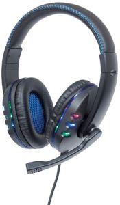 Manhattan Gaming-Sortiment, USB Gaming Headset mit LEDs