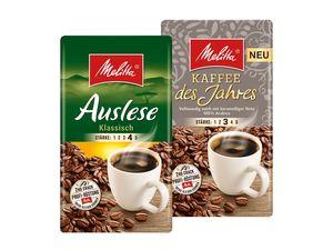 Melitta Kaffee, gemahlen