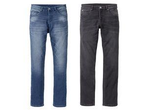 LIVERGY® Herren Sweat-Denim-Jeans