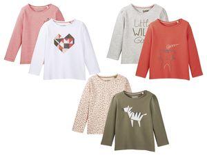 LUPILU® 2 Baby Mädchen Langarmshirts
