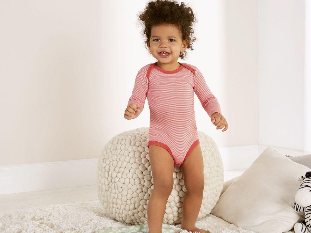 Bild 5 von LUPILU® 2 Baby Mädchen Langarmbodys