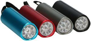 Grundig Taschenlampe: dreieckige Form - silber