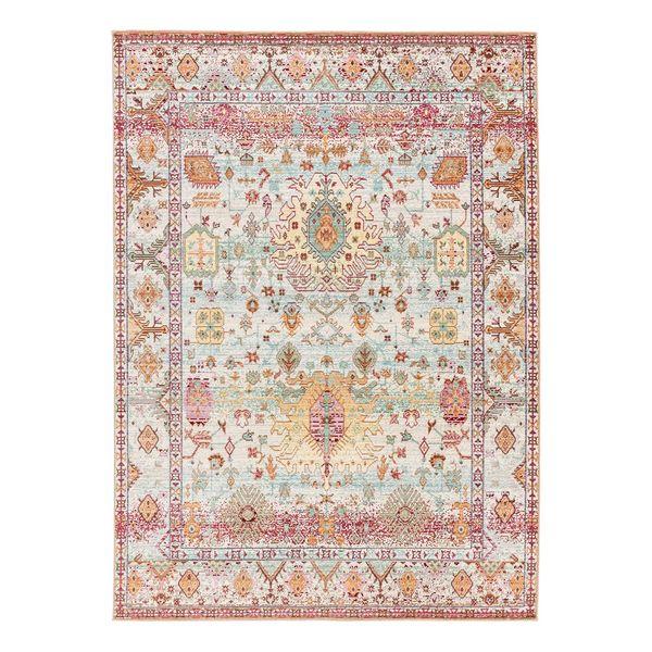 Teppich Shining Iii Kunstfaser Rot Grun 140 X 200 Cm