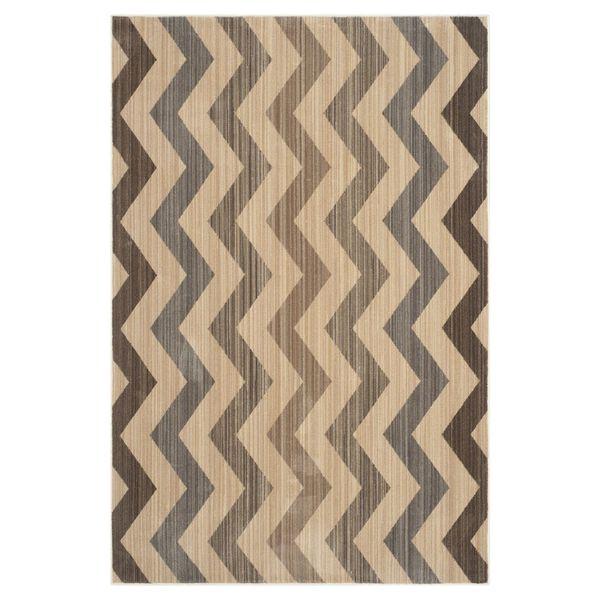 Teppich Maddalena   Gelb/Braun   Maße: 121 X 182 Cm, Safavieh