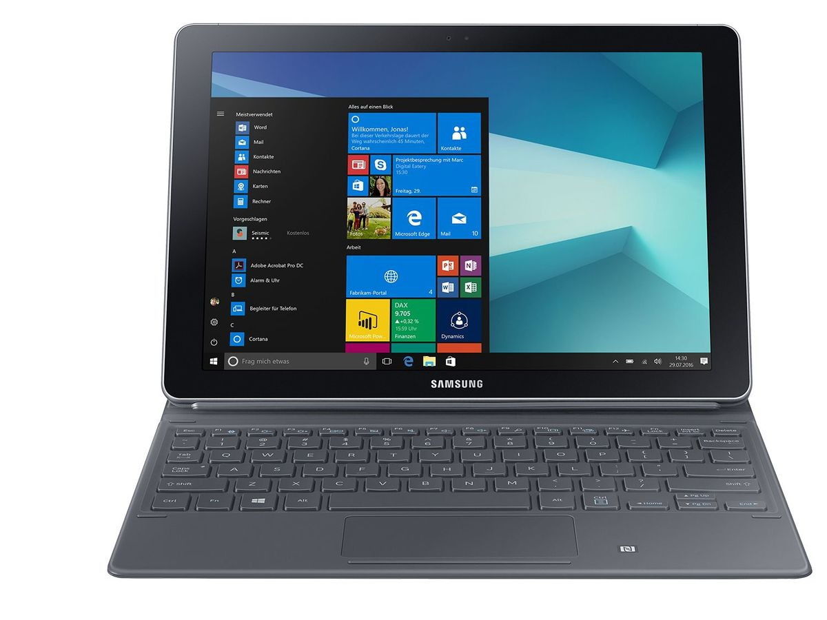 Bild 1 von SAMSUNG Galaxy Book 10.6 W620N 2in1 Laptop