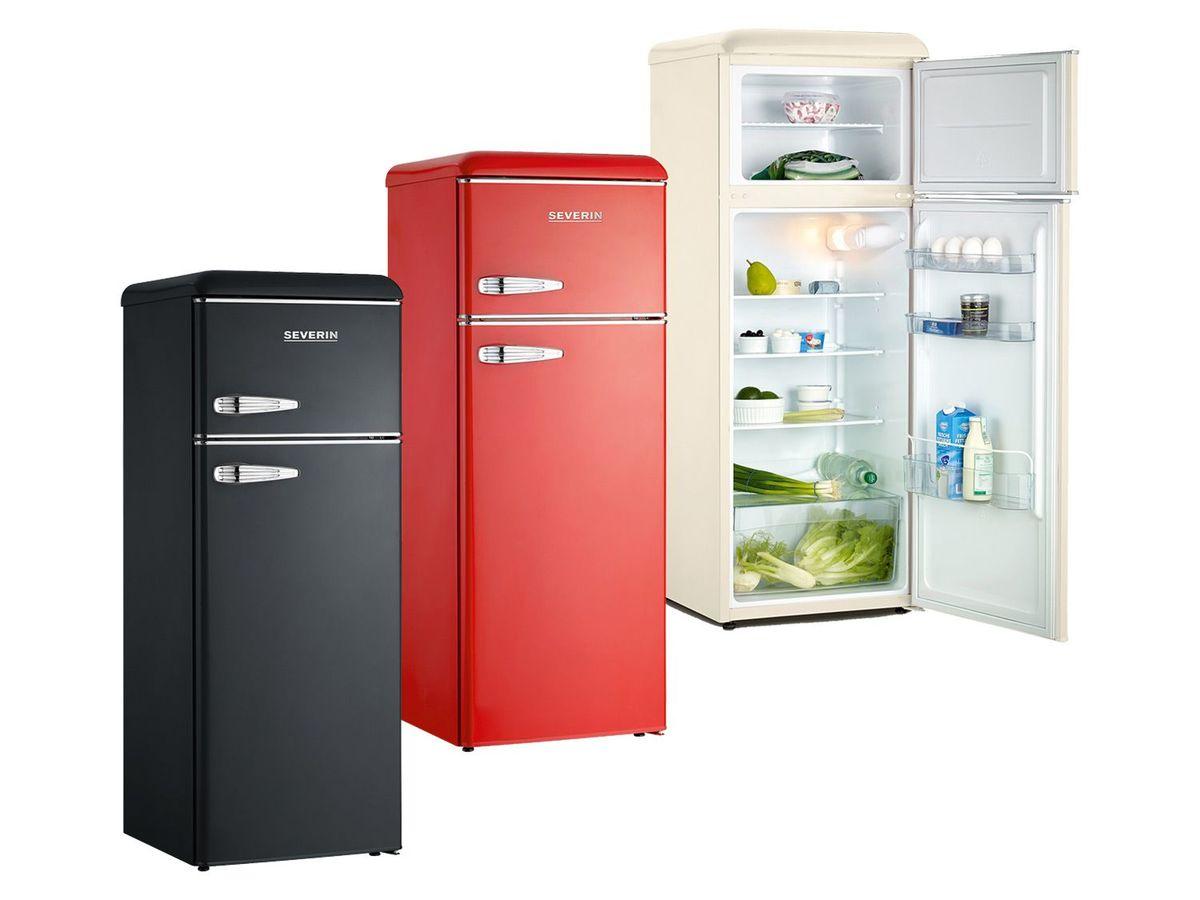 Bild 1 von SEVERIN Retro-Doppeltür-Kühl-/Gefrierschrank