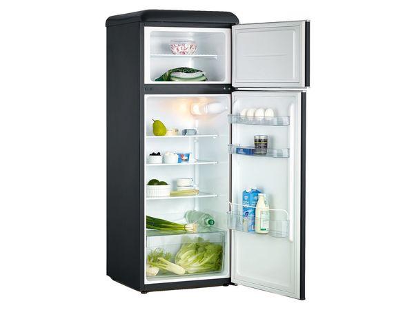 Retro Kühlschrank Mit Gefrierfach : Severin retro doppeltür kühl gefrierschrank von lidl ansehen