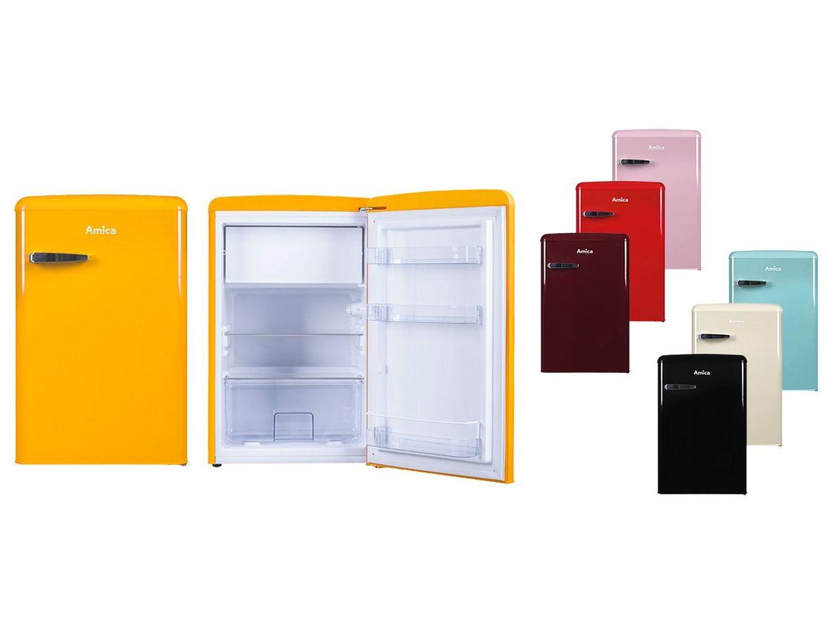 Bild 1 von Amica Retro-Kühlschrank mit Gefrierfach