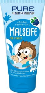 PURE & BASIC Kids Malseife Blau 75 ml