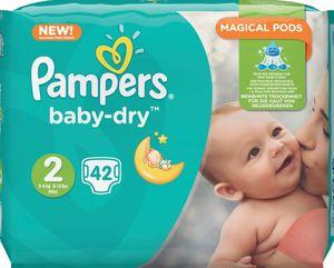 Pampers Baby-Dry Größe2 (Mini) 3–6kg, 42Windeln