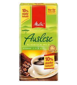 Melitta Auslese mild +10% gratis, 550g