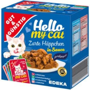 Gut & Günstig Hello my cat Zarte Häppchen