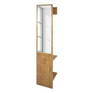 Wandgarderobe Armando - Wildeiche Dekor, Home Design