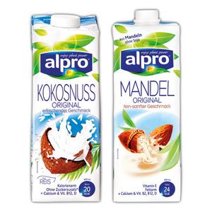 alpro Kokosnuss / Mandel Drink