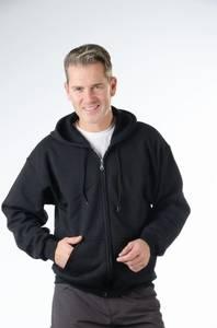 Kapuzenjacke, für Freizeit und Sport, Farbe schwarz Gr.M