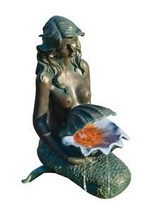 Teichfigur OSLO Meerjungfrau