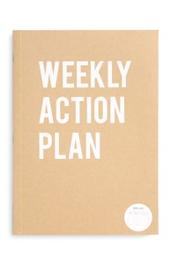 """Weekly Action"" Planer im A4-Format"
