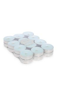 Blaue Teelichter, 24er-Pack