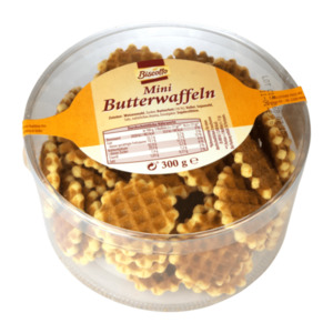 BISCOTTO  	   Mini Butterwaffeln
