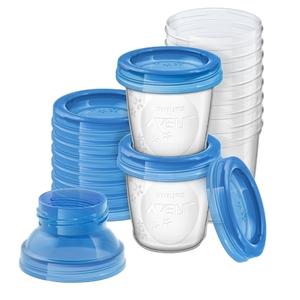 PHILIPS AVENT - Aufbewahrung Muttermilch SCF618/10, 10x180 ml