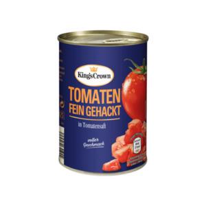 KING'S CROWN     Tomaten fein gehackt