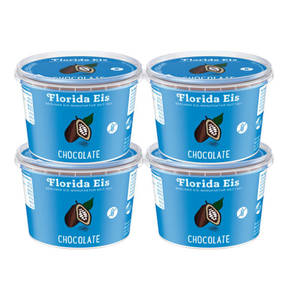 Florida Eis             4 x Chocolate Speiseeis